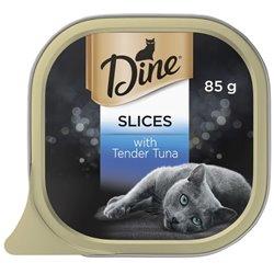 Dine Tuna Slices 85gx14