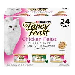 Fancy Feast Chicken Feast Variety Pack 85gx24