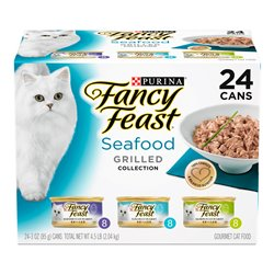Fancy Feast Grilled Seafood Variety Pack 85gx24