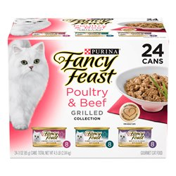 Fancy Feast Poultry & Beef Grilled Variety Pack 85gx24