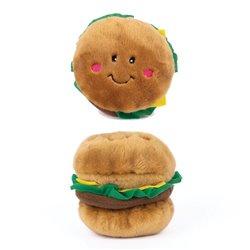 ZippyPaws Nomnomz Hamburger (11x11cm)