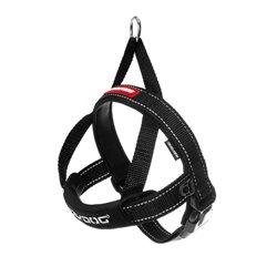 EzyDog QuickFit Harness Black