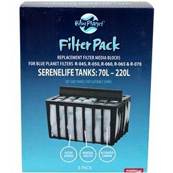 Blue Planet Filter Media Large 3 Pack Eg764 Suits Heaven Kingdom Atlantis Paradiso Vista Atlantic Orient Tank