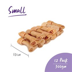 Kazoo Natural Knot Bone 10cm - 300gm - 12 pack