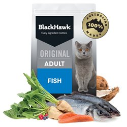 Black Hawk Feline Fish Adult Dry Cat Food