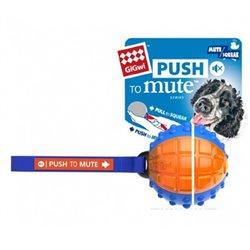 Gigwi Regular Ball Push To Mute Blue/Orange