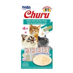 Inaba Churu Chicken with Crab Cat Treat 56g