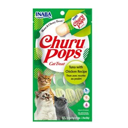 Inaba Churu Pops Tuna with Chicken Cat Treat 60g