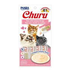 Inaba Churu Tuna with Salmon Cat Treat 56g