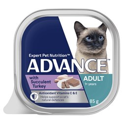 Advance Cat with Succulent Turkey 85g