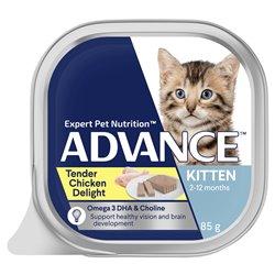 Advance Kitten Tender Chicken Delight 85g