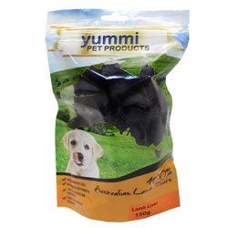 Yummi Lamb Liver Dog Treat 150g