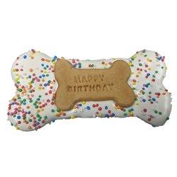 Huds & Toke Happy Birthday Bone Blue 14cm