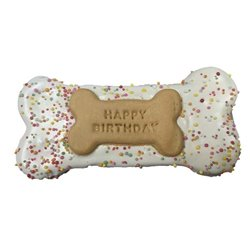 Huds & Toke Happy Birthday Bone Pink 14cm