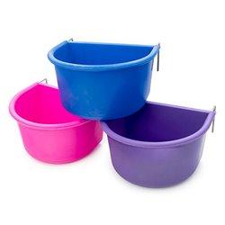 Plastic D Coop Cup 7cm (Assorted Colours)