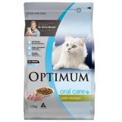 Optimum Cat Oral Care 1.5kg x 4