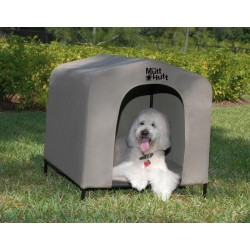 THE MUTTHUTT DOG HOUSE Large (84x73x80cm)
