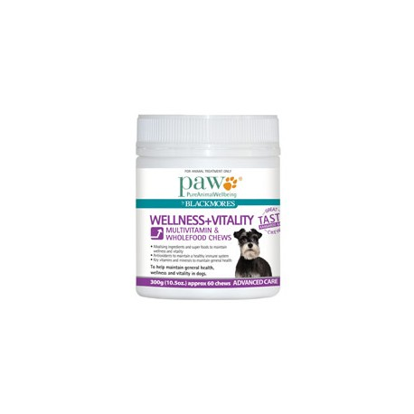 PAW Wellness & Vitality Multivitamin Chews