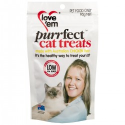 Love Em Purrfect Chicken Treat 90g