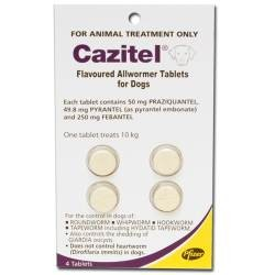 Cazitel All Wormer Small Dog 10kg