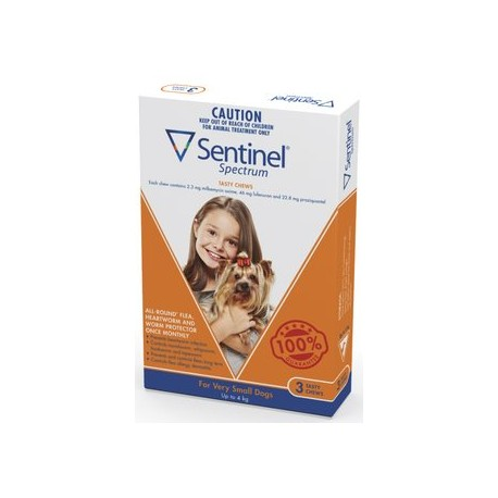 Sentinel Very Small Dog 0-4KG