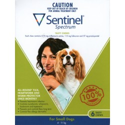 Sentinel Spectrum Small Dog 4-11KG