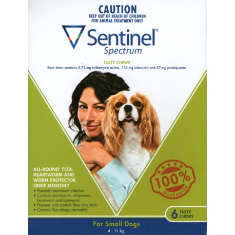 Sentinel Small Dog 4-11KG