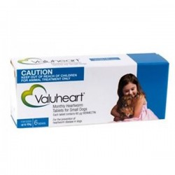 Valuheart Small Dog Blue 6Tab