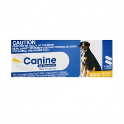 Value Plus All Wormer Canine Dog 40kg