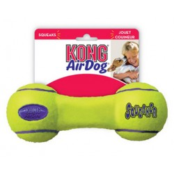 KONG AIRDOG SQUEAKER DUMBBELL MEDIUM