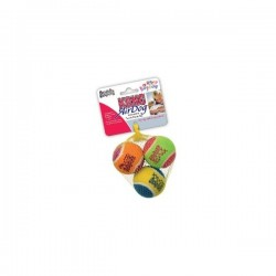 KONG SPORT BALLS ASSR 3PACK MEDIUM ABS2