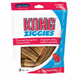 KONG Stuff N Adult Ziggies Large 6 Pack