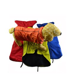Dog Coat Waterproof Outer Fleecy Inner