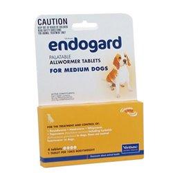 Virbac Endogard Dog 10KG 4Tabs