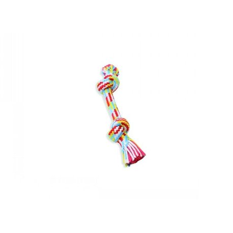 "Flossy Chews BRAIDYS 2 KNOT BONE Small 9"" (22cm)"