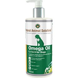 Natural Animal Solutions Omega 3,6 & 9 Oil For Dogs