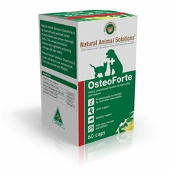 Natural Animal Solutions Osteoforte 60 Caps