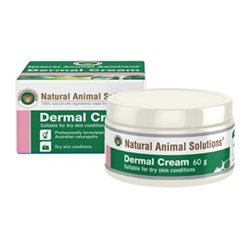 Natural Animal Solutions Dermal Cream 60g