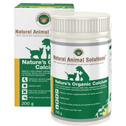 Natural Animal Solutions Nature's Organic Calcium 200g