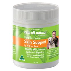 Vet's All Natural Health Chews Skin Support 270g
