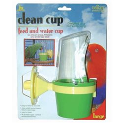 Insight Clean Cup Bird Feed & Water Cup Large