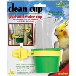 Insight Clean Cup Feed & Water Medium