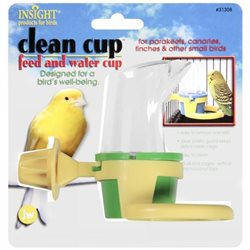Insight Clean Cup Bird Feed & Water Cup Small