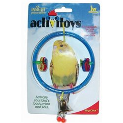 Insight Bird Toy Ring Clear