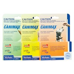 Canimax Small Dog 0-5kg - 4 Tabs