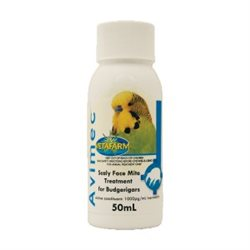 Vetafarm Avimec Scaly Face Mite Bird Treatment 50ml