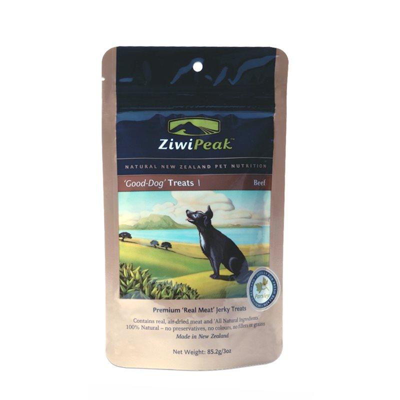 Ziwipeak Good Dog Beef Treats 85g