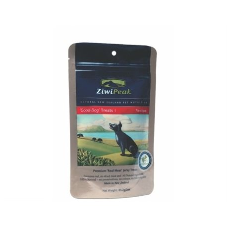 ZiwiPeak Good-Dog Venison Treats 85g