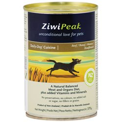 ZiwiPeak Daily Dog Beef Cans