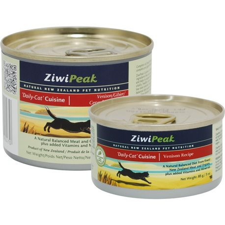ZiwiPeak Daily Cat Venison Cans